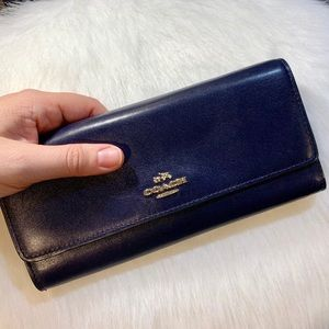 Coach Soft Leather Wallet